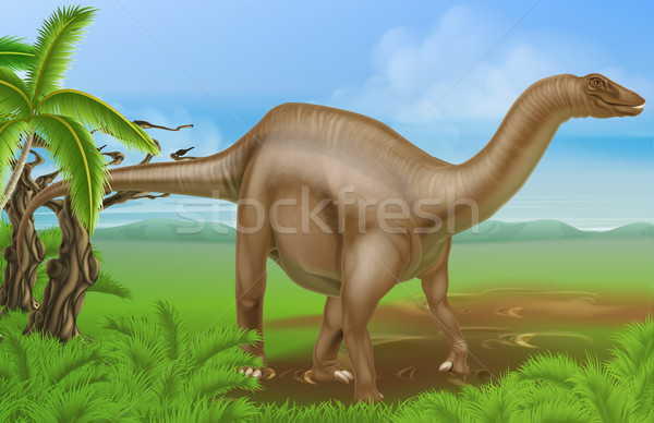 Diplodocus dinosaur Stock photo © Krisdog