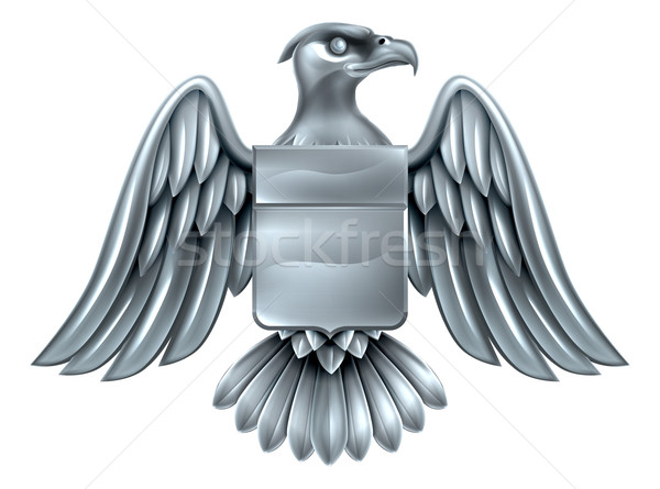 Imperial Eagle Shield Coat of Arms Stock photo © Krisdog