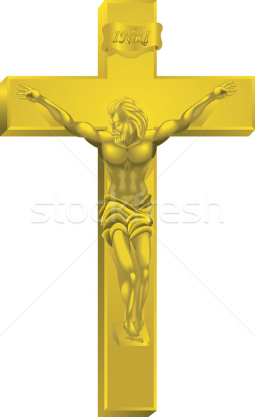 A crucifix Stock photo © Krisdog