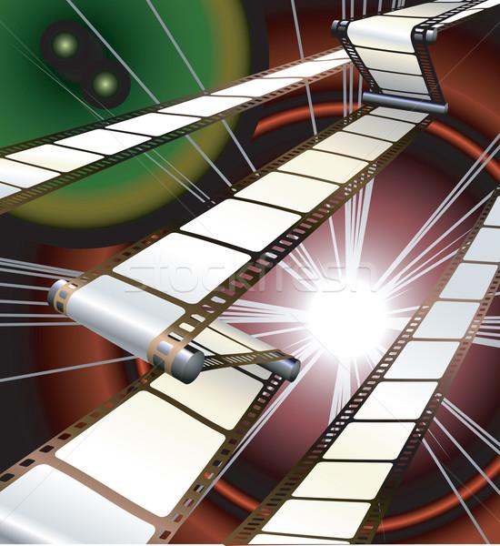 Film projektör kamera dinamik çerçeve film Stok fotoğraf © Krisdog