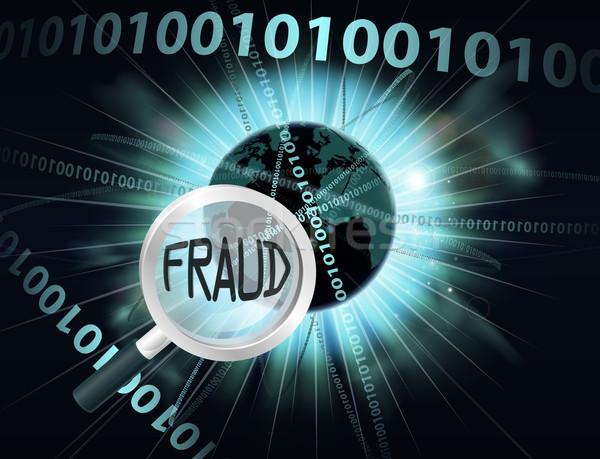 Online Fraud concept Stock photo © Krisdog