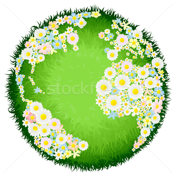Floral flower globe concept Stock photo © Krisdog