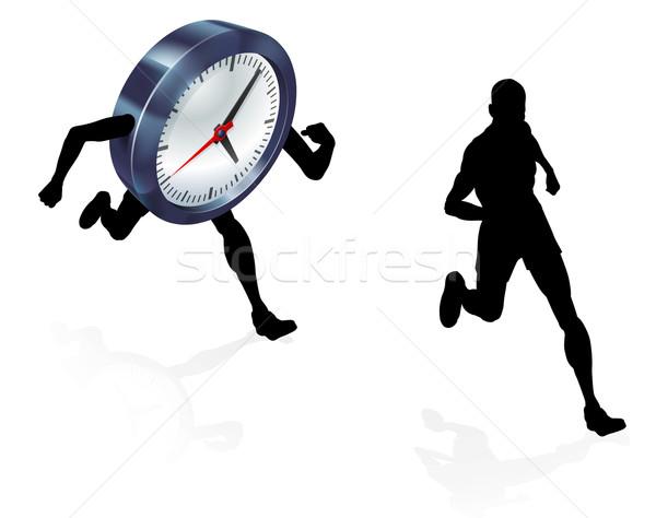 время часы работает работу жизни баланса Сток-фото © Krisdog