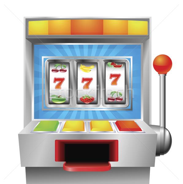 Slot fruit machine Stock photo © Krisdog