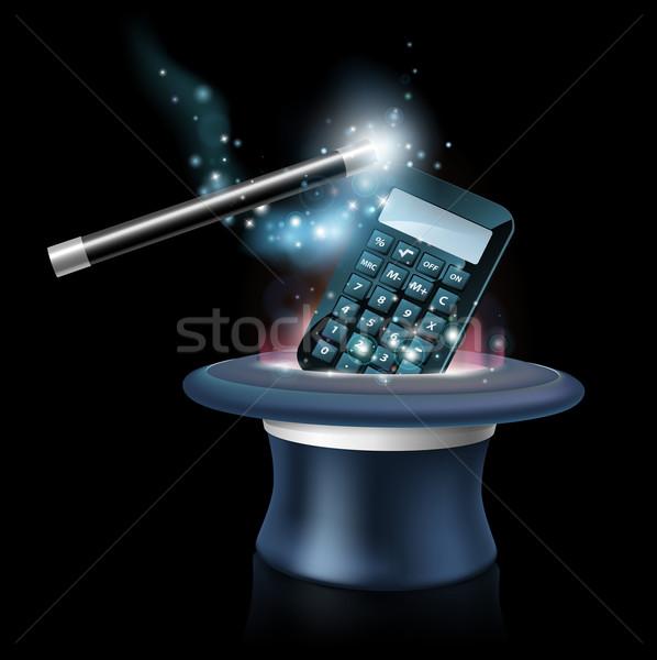 Magic math concept Stock photo © Krisdog