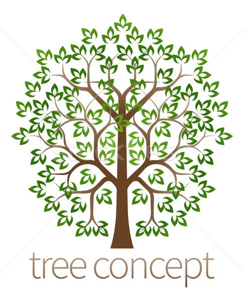 Tree concept Stock photo © Krisdog