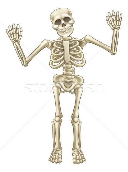 Cartoon Skeleton Character Stock photo © Krisdog
