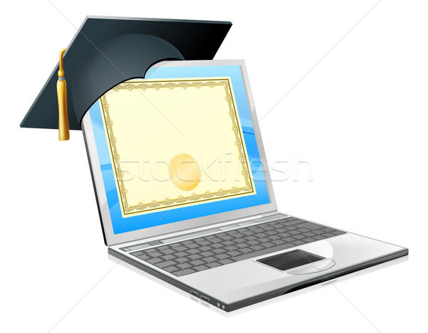 Education laptop concept Stock photo © Krisdog