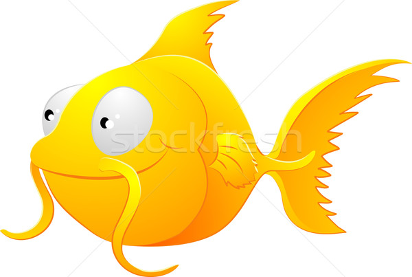 Goldfish clipart illustration Stock photo © Krisdog
