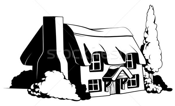 Country cottage Stock photo © Krisdog