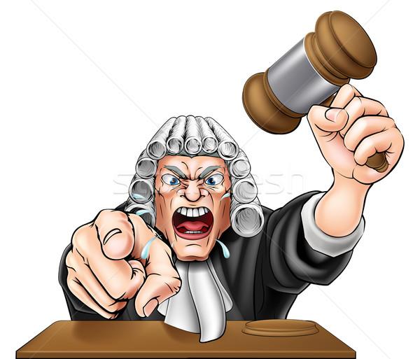 Judge Wig Stock Vectors Illustrations And Cliparts Stockfresh