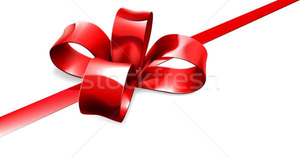 красный лук подарок иллюстрация красивой Сток-фото © Krisdog
