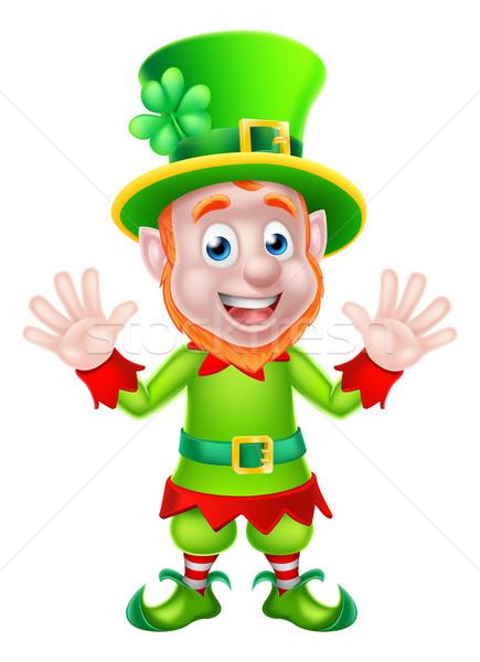 St Patricks Day Leprechaun Stock photo © Krisdog