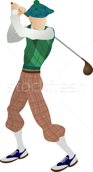 Golfer Stock photo © Krisdog