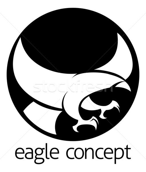 Abstract eagle circle concept Stock photo © Krisdog