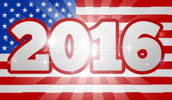 American Flag Concept 2016 Election  Stock photo © Krisdog