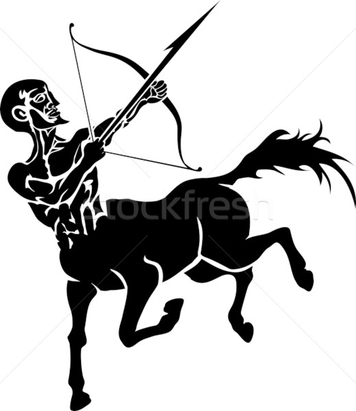 centaur illustration Stock photo © Krisdog