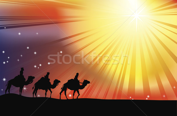 The three wise men Stock photo © Krisdog