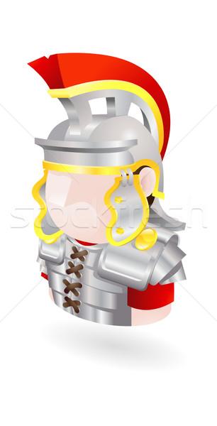roman soldier icon Stock photo © Krisdog