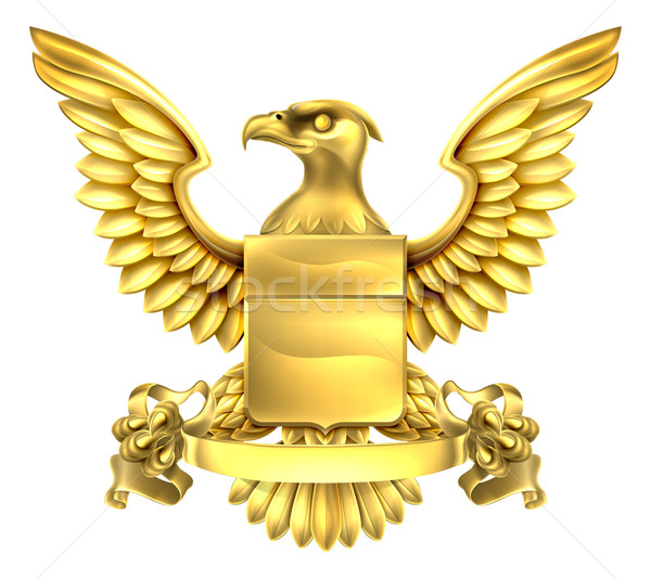 Eagle Heraldry Coat of Arms Stock photo © Krisdog
