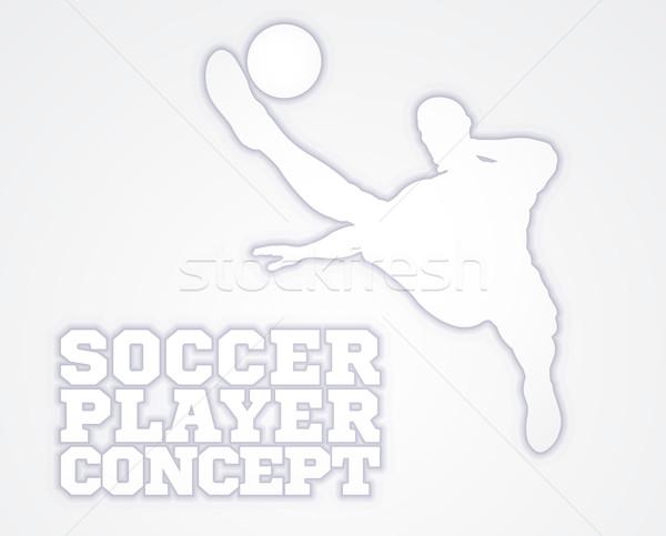 Football Player Concept Stock photo © Krisdog