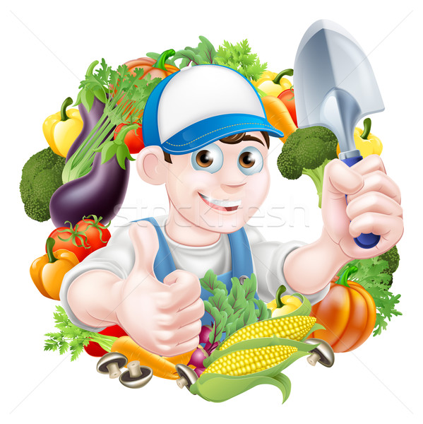 Vegetable Gardener Stock photo © Krisdog