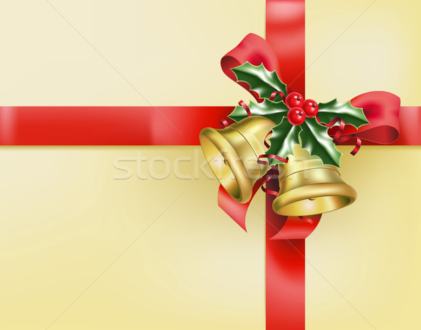 a gift of bells and bows Stock photo © Krisdog