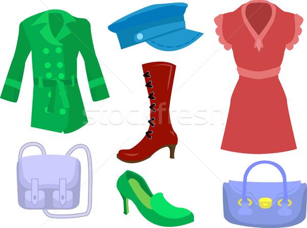 fashion set Stock photo © Krisdog