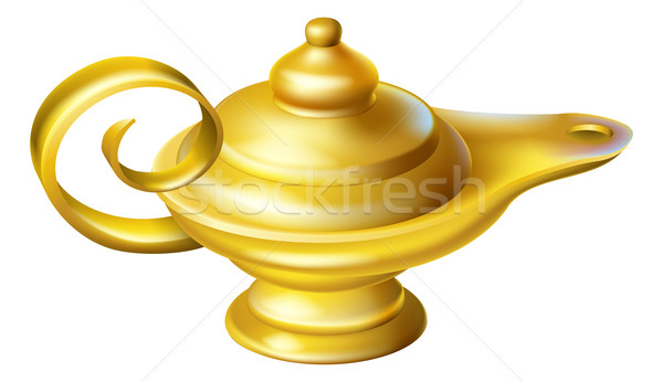 Oil Lamp Stock photo © Krisdog