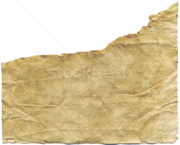 Antigo papel não clonagem fundo laranja Foto stock © Krisdog