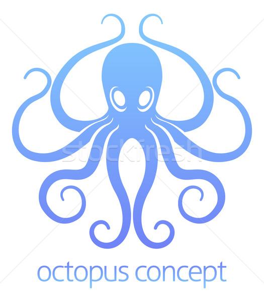 осьминога дизайна аннотация иллюстрация природы фон Сток-фото © Krisdog