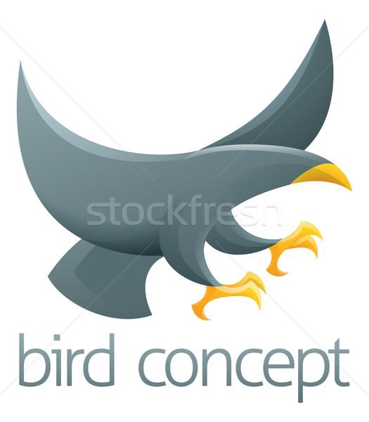 Stok fotoğraf: Kuş · dizayn · soyut · örnek · iş · sanat