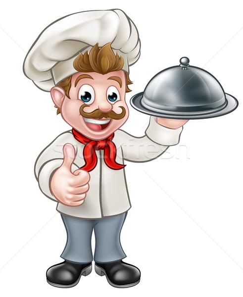 Cartoon Chef Stock photo © Krisdog