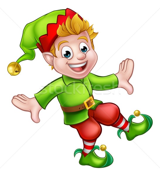 Christmas elves stock photos images and vectors