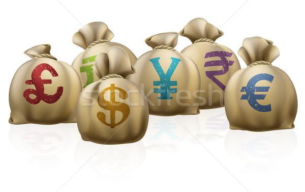 Zdjęcia stock: Ceny · waluta · symbolika · działalności · podpisania