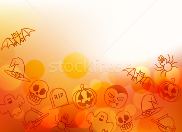 Halloween Background Stock photo © Krisdog