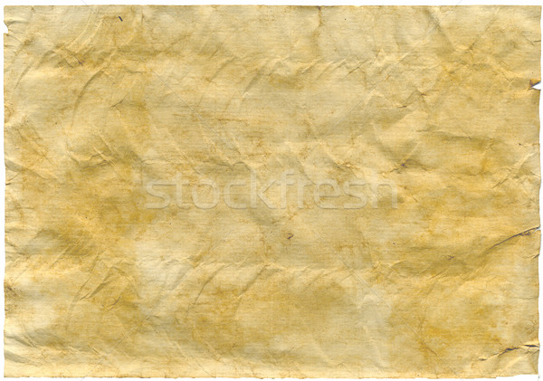 антикварная бумаги нет клонирование фон оранжевый Сток-фото © Krisdog