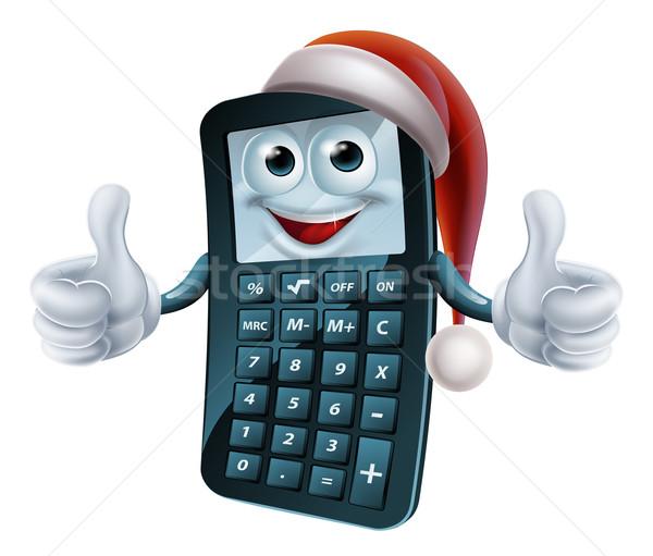 Mutui math Natale carattere matematica indossare Foto d'archivio © Krisdog