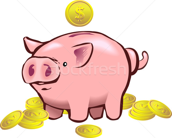 piggy bank moneybox Stock photo © Krisdog