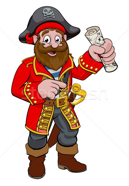 Cartoon Pirate Stock photo © Krisdog