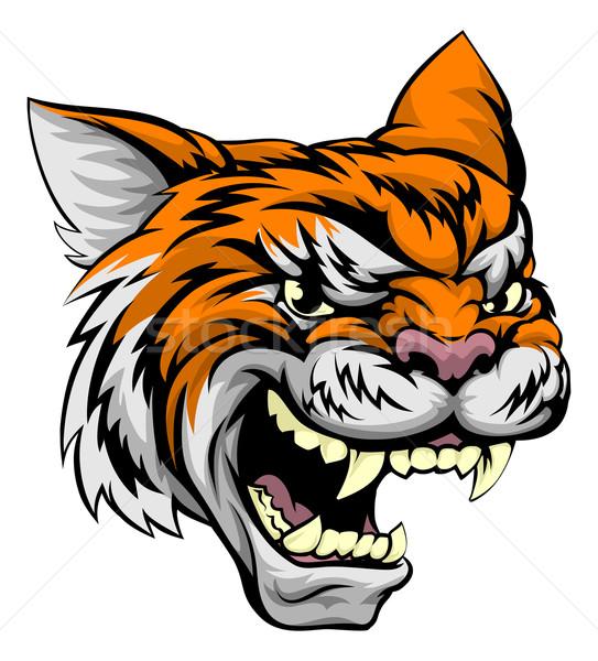 Tiger Sports Mascot Stock photo © Krisdog