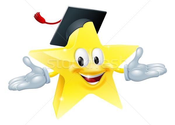 Stockfoto: Onderwijs · star · man · gelukkig · ogen