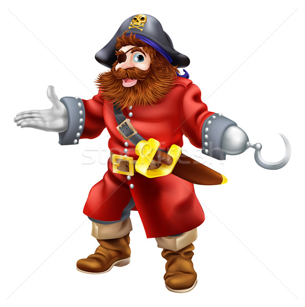 Pirate illustration Stock photo © Krisdog
