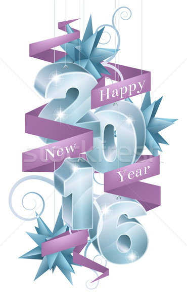 Happy New Year 2016 Stock photo © Krisdog