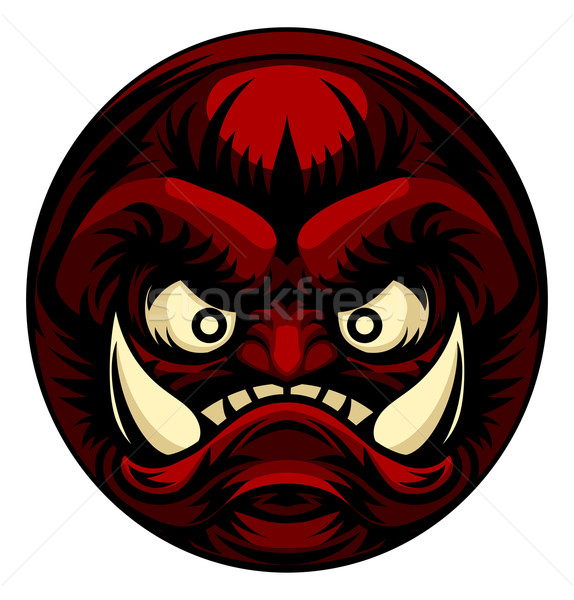 Troll or Monster Icon Emoticon Stock photo © Krisdog