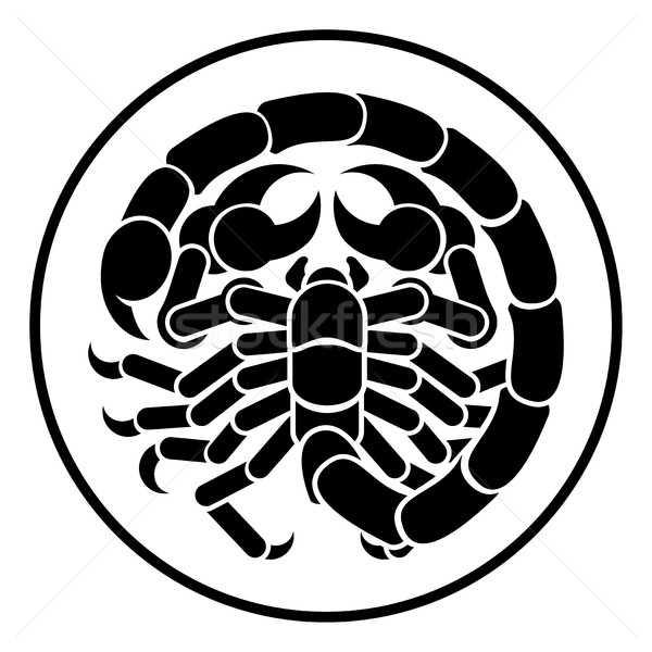 Scorpion Scorpio Zodiac Horoscope Astrology Sign Stock photo © Krisdog