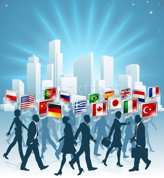 Stock photo: International business concept