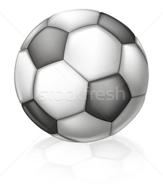 Soccer Ball Illustration Stock photo © Krisdog