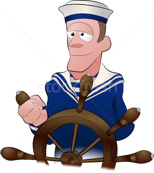 sailor illustration Stock photo © Krisdog