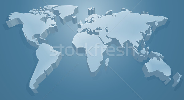 World Map Background Stock photo © Krisdog
